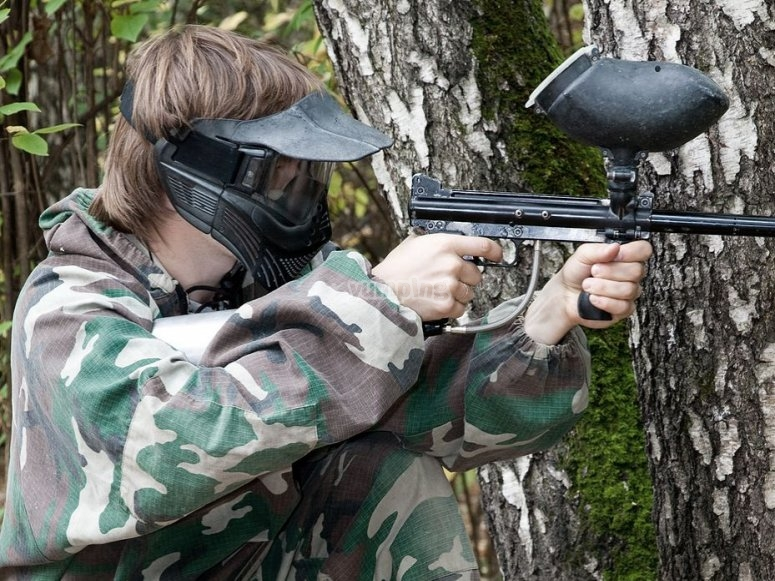 Giocatore paintball