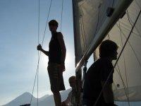 Sulla barca a vela