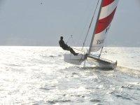 avanzare! da solo sul catamarano