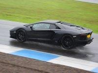 Lamborghini in pista