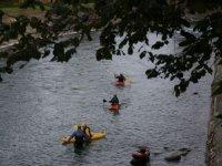 Canoa sul Dora Baltea