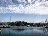 Vista dal porto