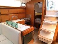 L'interno della barca