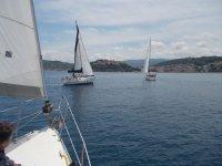Una giornata in vela