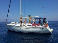 festa in barca