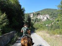 Turismo equestre a Rieti