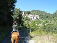 Montebuono a cavallo