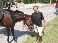 pronti per la passeggiata equestre