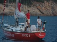 Sail with single boardings