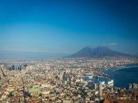 La vista su Napoli
