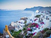 Oia in Greece