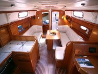 gli interni della nsotra barca