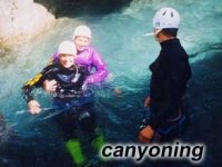 Canyoning experiences