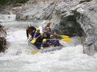 Rafting sulle gole della Dora di Cesana