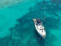 In pausa sull'azzurro mar
