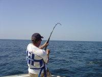 Sport fishing by boat