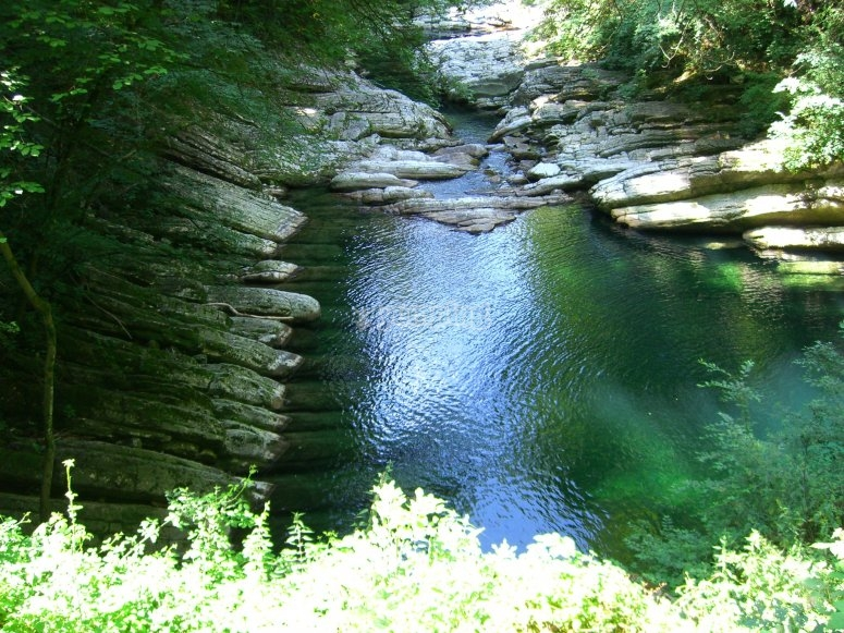 Il fiume del canyoning