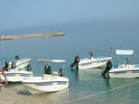Our boats in Tropea