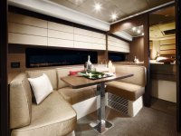 The luxury of cabins