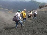 Trekking sul Monte Etna