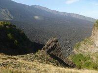 Trekking on Mount Etna