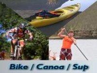 Bike, Canoa e Sup