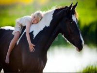 Tour a cavallo Pineta del Tombolo 1ora per bambini