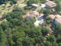 Il Casale, vista aerea