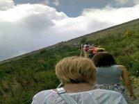 Towards the Vesuvius