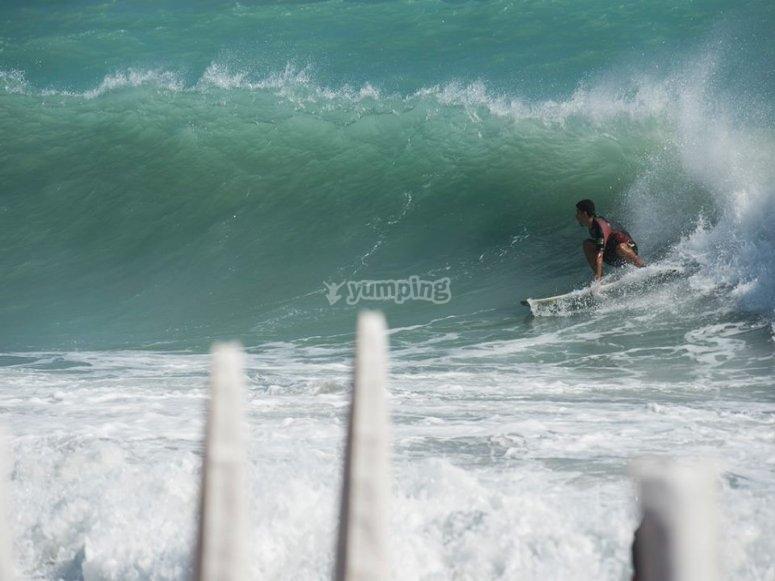 Cavalcando l'onda perfetta