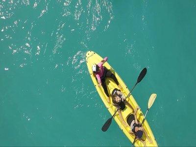 Noleggio canoa doppia 1 ora a Bordighera