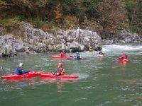 Tre corsi di canoa