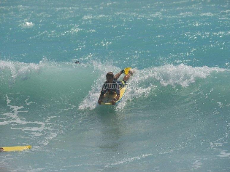 Corso di surf di 1º livello