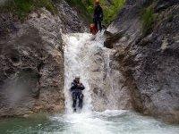 L emozione del canyoning