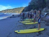 Corso di surf di 1º livello (6h) a Bordighera