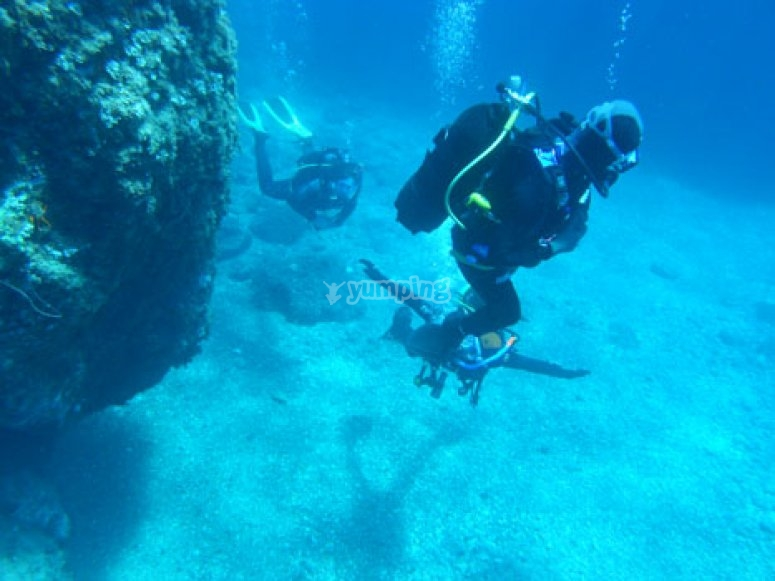Guided dives