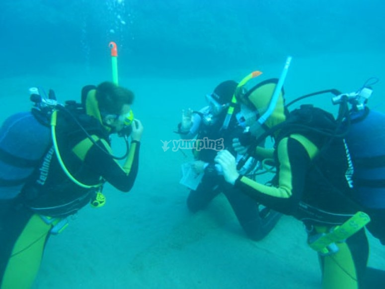 Prove sott acqua