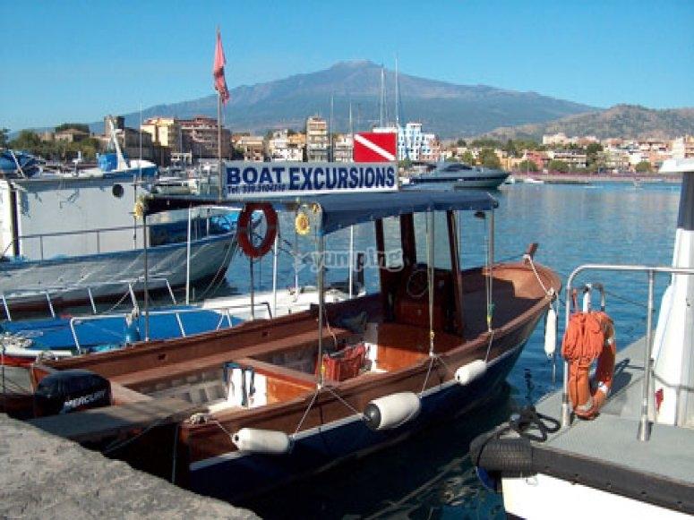 La nostra imbarcazione