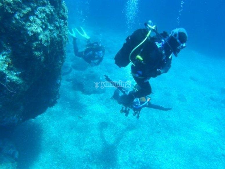 Immersioni in Sicilia