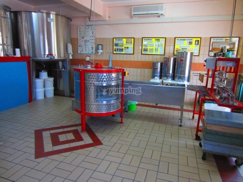 Honey laboratory