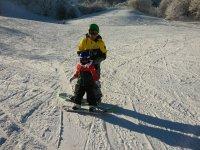 impara lo snowboard