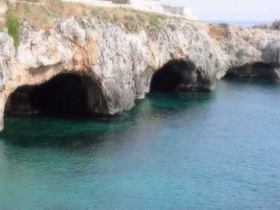 Daily excursion to Leuca by rubber dinghy