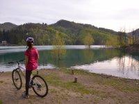 Bici sul lago