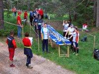 Preparazione e partenza orienteering