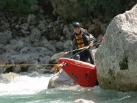 Canoa sul fiume Adda