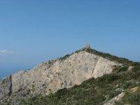 trekking e freeclimbing alla falesia di Capo d'Uomo