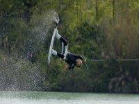 Salto acrobatico sul wake!