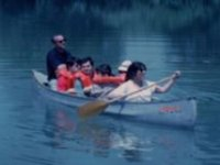 Canoe for the disabled
