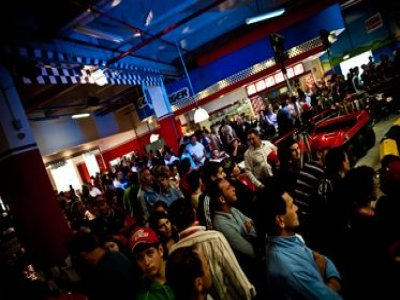 Go-Go Kart Racing Park Indoor Parchi di Divertimento