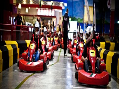 Go-Go Kart Racing Park Indoor Kart